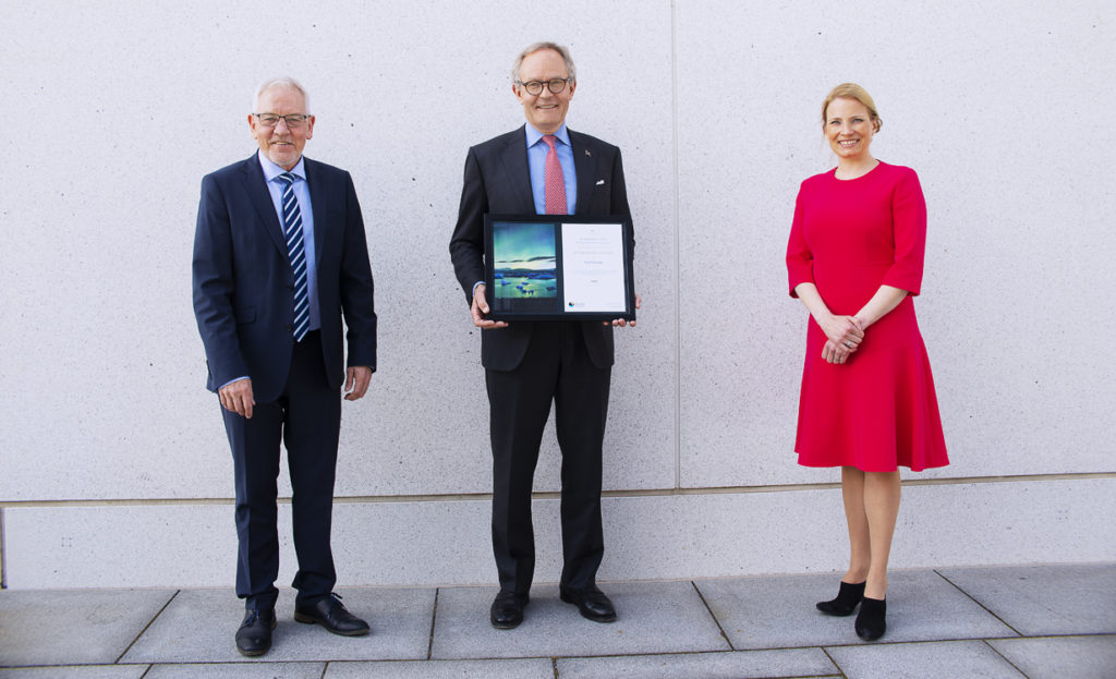 Frode Mellemvik, Felix Tschudi and Anu Fredrikson